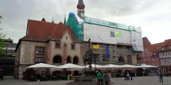 Marktplatz in Göttingen (Mai 2017)