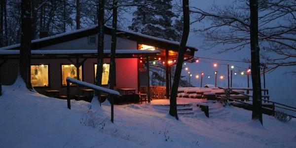 Dernbacher Haus im Winter