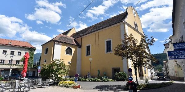 Die Minoritenkirche in Bruck an der Mur