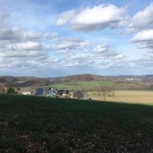 Blick von Brockhausen