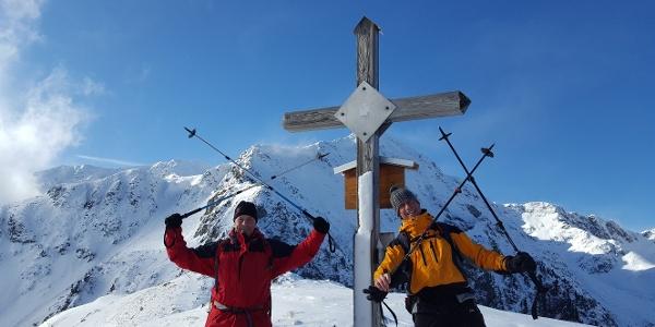 Am Gipfel des Hauseck, Blick zum Großen Bösenstein