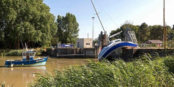 Le 'bateau mou', Canal de la Martinière
