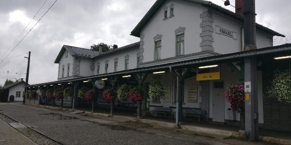 Bahnhof Mariazell in St. Sebastian