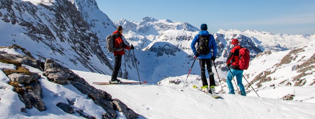 1-tägige Gebietsdurchquerungen und Skirundtouren.