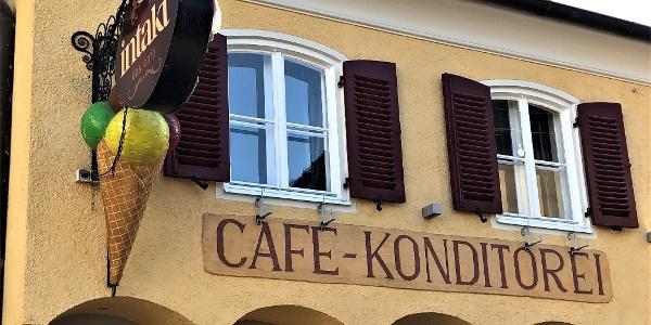 Cafe Intakt in der Innenstadt von Pöchlarn