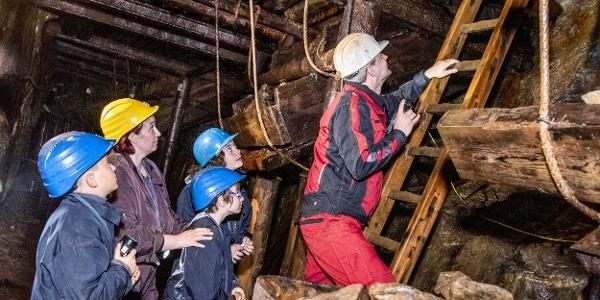 Führung im Besucherbergwerk Zinngrube Ehrenfriedersdorf (2)