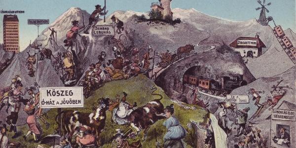 A Kőszegi-hegység vicces jövőképe...