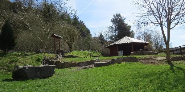 Schutzhütte in St. Johann