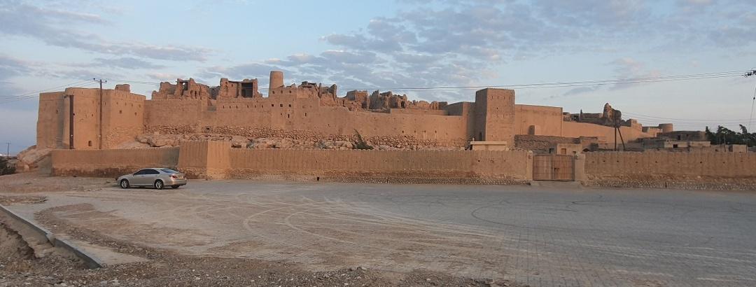 Historische befestigte Lehmstadt von Ibri