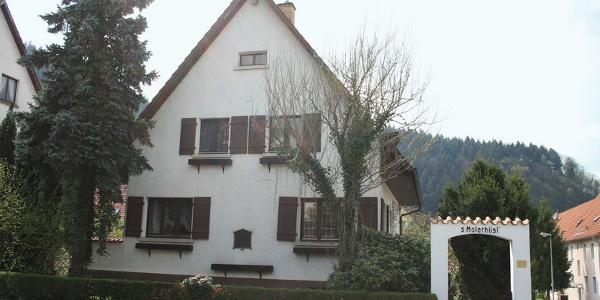 Das Haus des Malers indem sich auch sein Atelier verbirgt