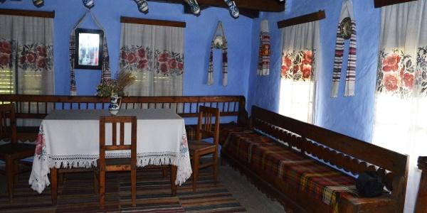 Interior casă țărănească