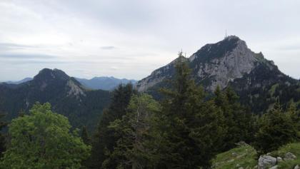 Blick zum Gipfel des Wendelstein
