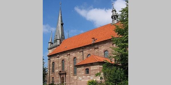 Außenansicht der Pfarrkirche