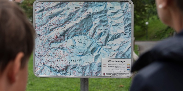 Start beim Kloster Viktorsberg  (c) Martin Vogel / Vorarlberg Tourismus