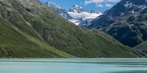 Silvretta Stausee (c) Lucas Tiefenthaler / Vorarlberg Tourismus