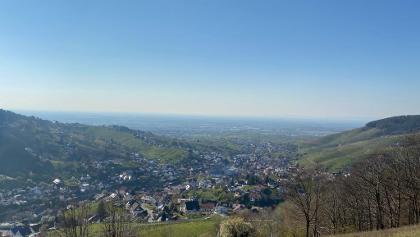 Blick aus der Emil-Kern Hütte, 1. April 2020