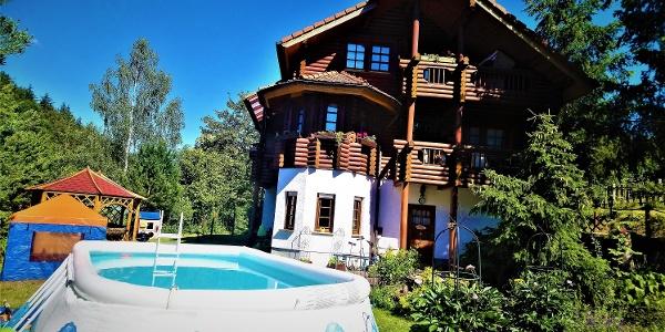Ferienwohnung Ruppertsgrün, Pool