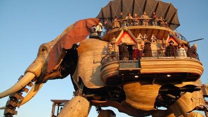 Machines de l'Ile à Nantes