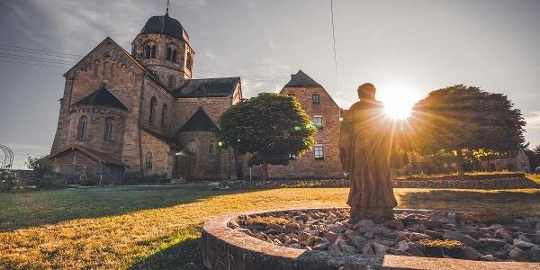 Klosterkirche Sponheim Seitenansicht
