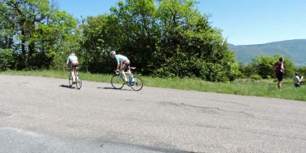 Circuit vélo - Tour de la Charvaz