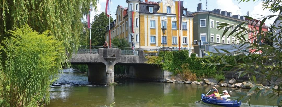Schlauchboot fahren in Fürstenfeldbruck