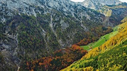 Sengsengebirge, Nordabstürze und Blumauer Alm © Nationalpark Kalkalpen_F. Sieghartsleitner