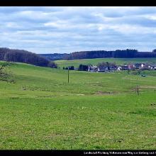 Landschaft Richtung Volkerzen vom Weg von Idelberg nach Marienthal