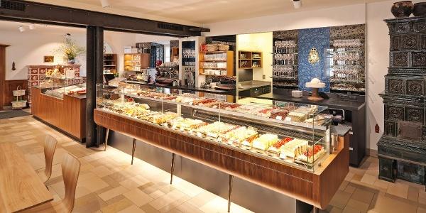 Cafe - Konditorei - Lebzelterei Ebner: Innenansicht