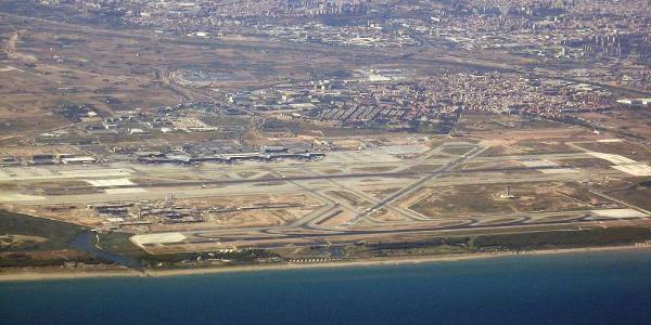 El Prat a Aeroport BCN T1 y zones del Delta del Llobregat