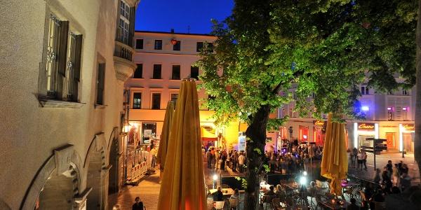 Altmarkt Plauen zur Museumsnacht