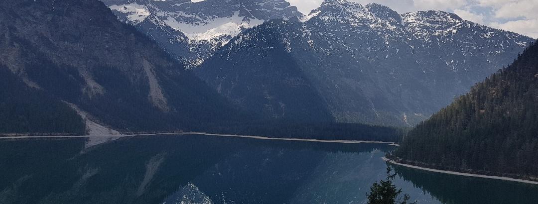 Herrlicher Ausblick vom Panoramaweg auf den See