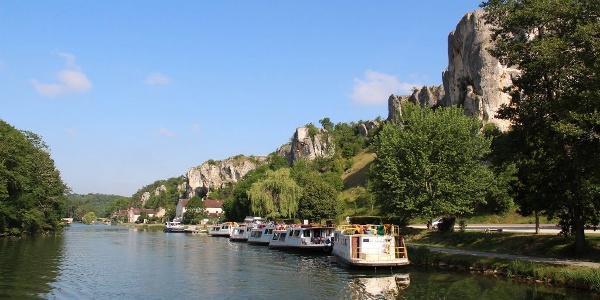 Entre Laroche et Tannay - Canal du Nivernais à vélo