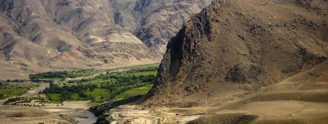 Berglandschaft in Afghanistan
