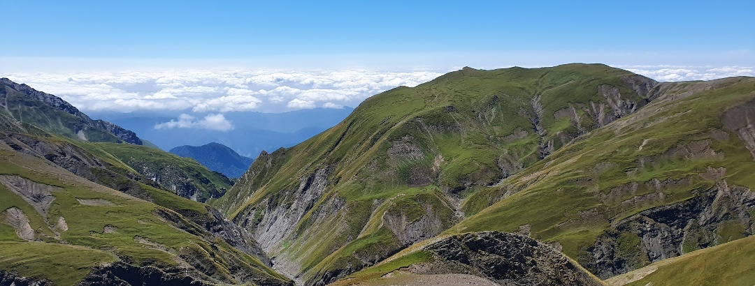 Berglandschaft im Kaukasus