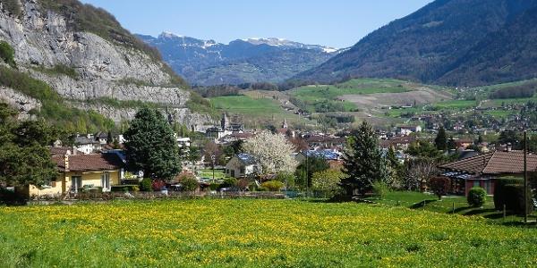 Das Dorf St-Maurice