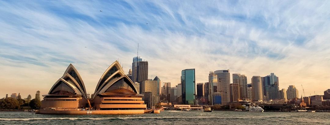 Sydney Opera House und Skyline