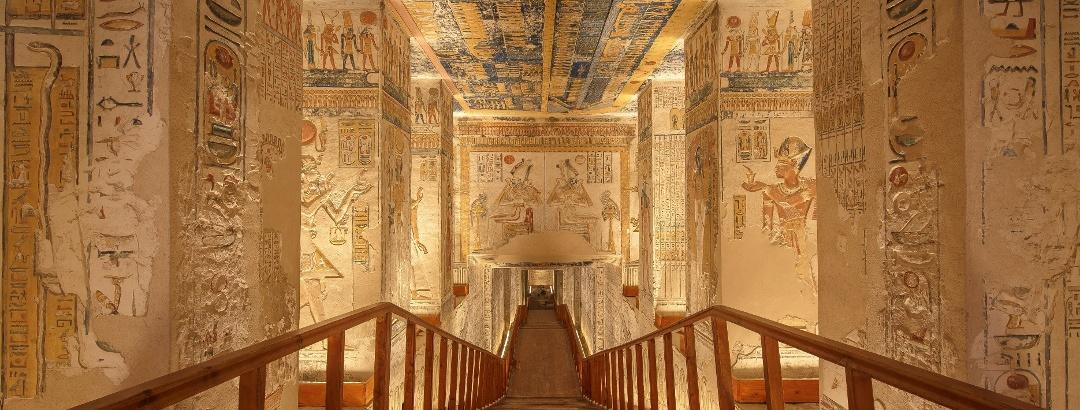 Ägyptische Wandmalereien