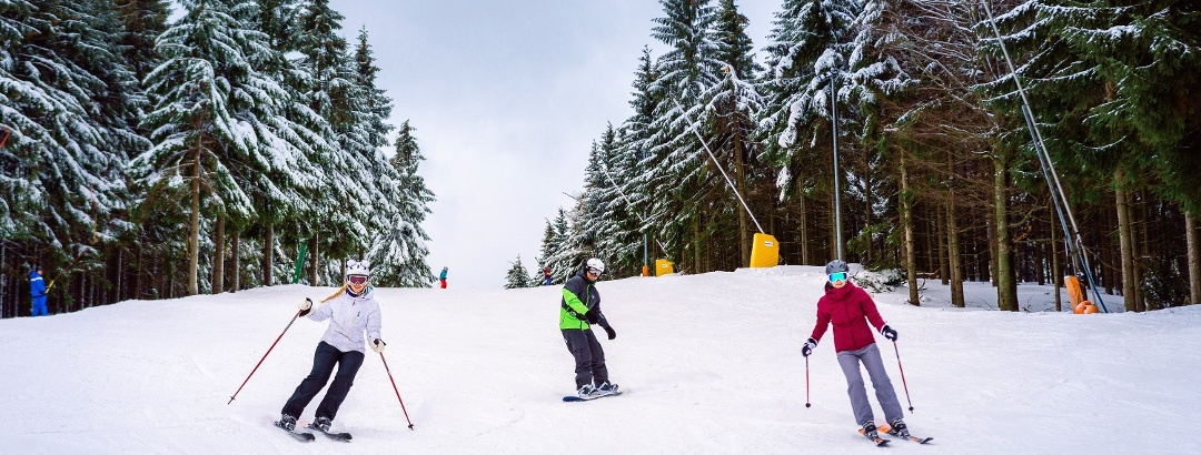 Wintersport in Altenberg