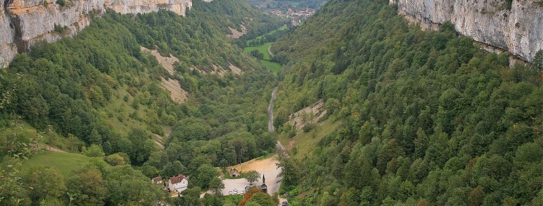 Landschaft im französischen Jura
