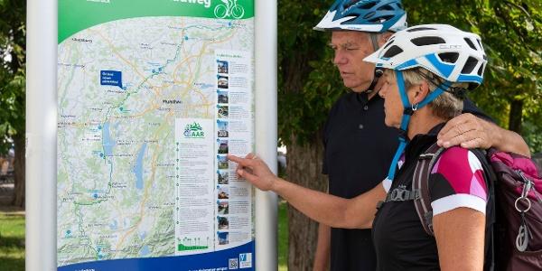 Informationstafel Ammer-Amper-Radweg