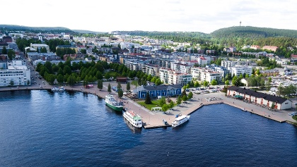 Kuopio City and Passenger Harbour