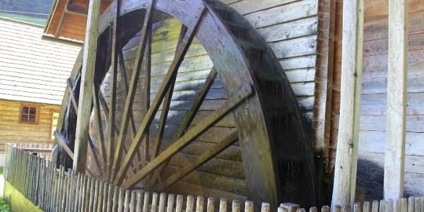 Schreinhofer Mühle, Wasserrad