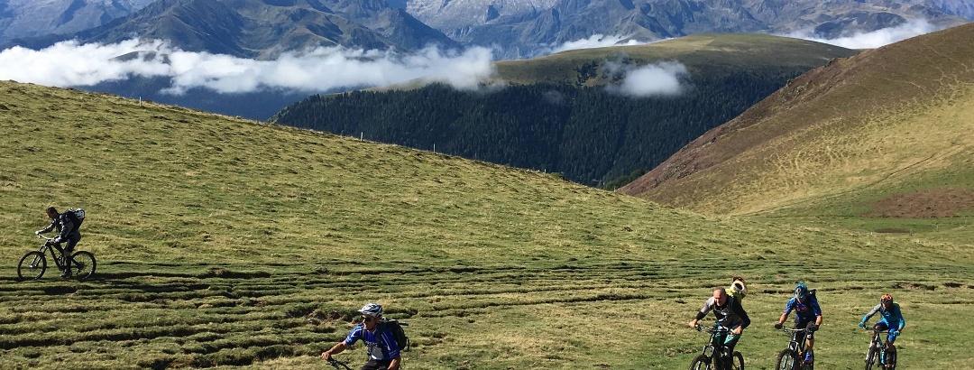 VTT dans les Pyrénées en Haute-Garonne