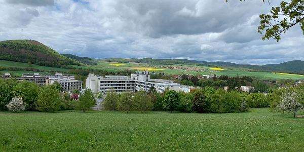 Blick über Reinhardshausen nach Albertshausen
