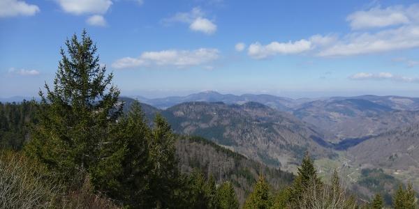 Tolle Aussicht vom Hochkopfturm