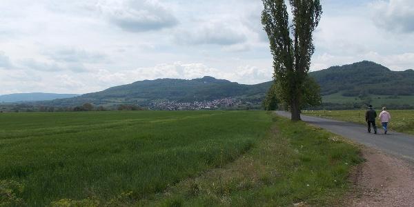 Blick Oechsenberg und Dietrichsberg