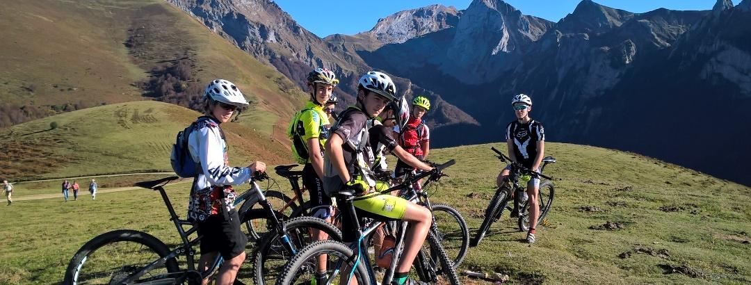 VTT en vallée d'Aspe (Pyrénées-Atlantiques)