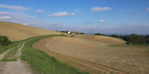 Das Hinterland von Malching