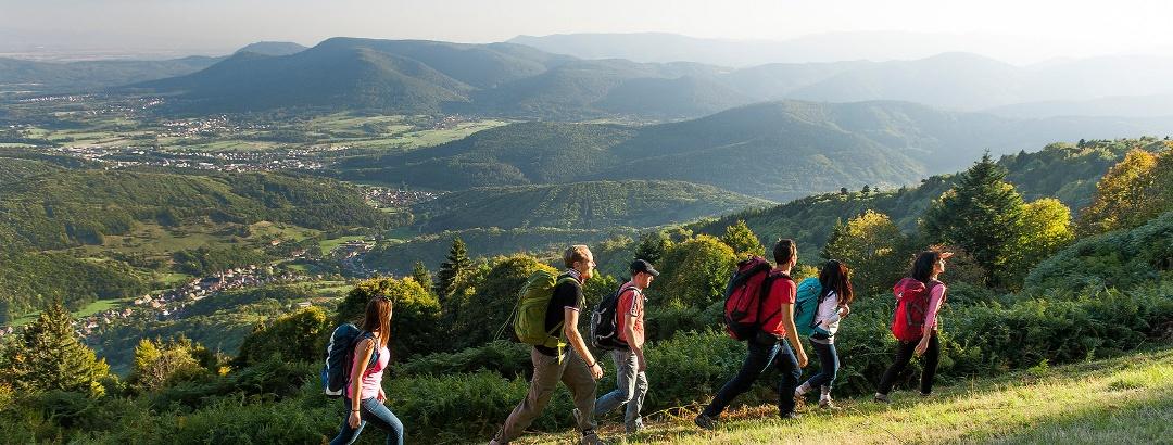Randonnée dans le département des Vosges