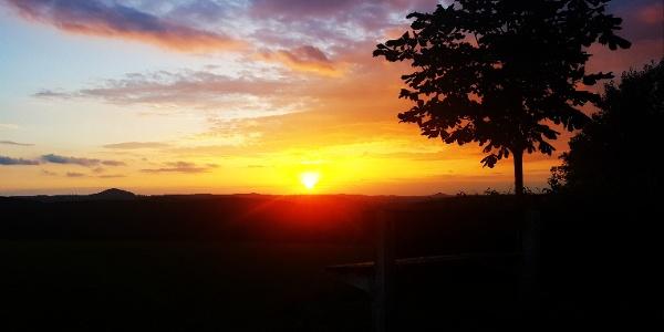Sonnenuntergang Fürstenwalde